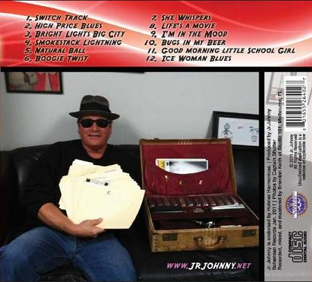 Jr. Johnny on the WOW cd back