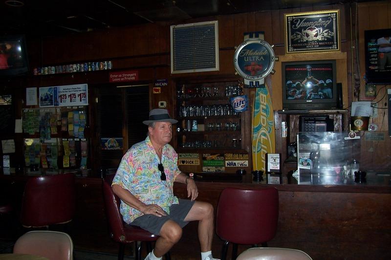 Johnny at the bar